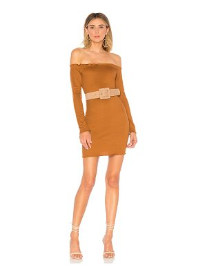 About Us Baylee Off Shoulder Dress