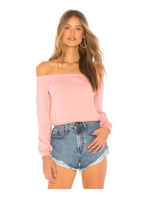 About Us Bella Off Shoulder Sweatshirt
