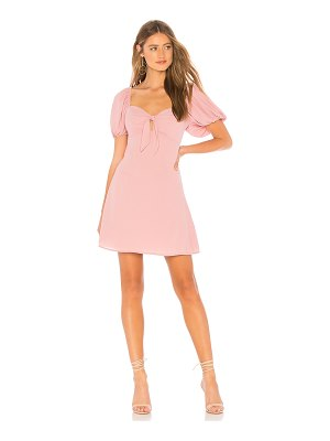 About Us Clarissa Tie Mini Dress