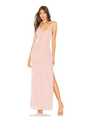 About Us Lola High Slit Maxi Dress