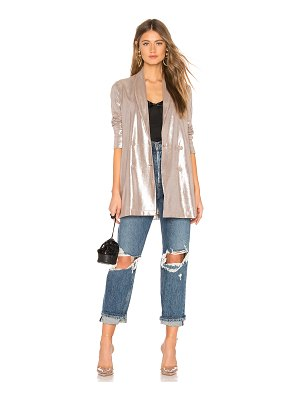 About Us Matilda Metallic Blazer