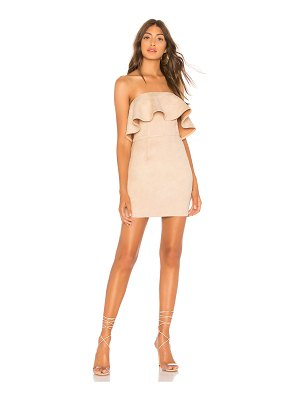 About Us Rebecca Strapless Dress