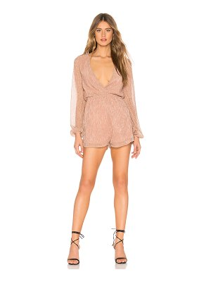 About Us Tia Pleated Romper