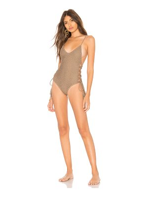 ACACIA SWIMWEAR Florence Crochet One Piece