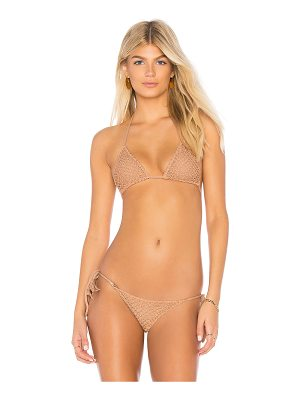 Acacia Swimwear Humuhumu Crochet Triangle Top