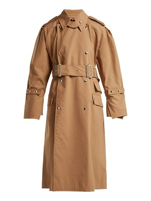 Acne Studios Cotton Gabardine Trench Coat