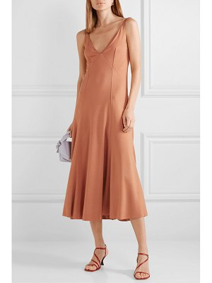 Acne Studios dalice flu jersey midi dress