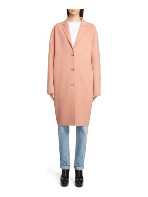 Acne Studios double wool & cashmere coat