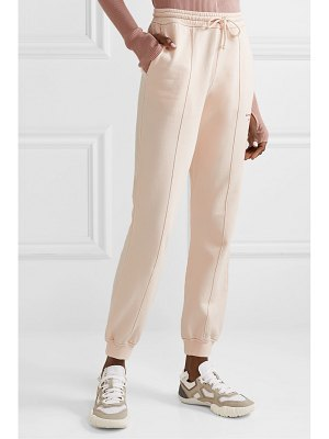 Acne Studios felodie embroidered cotton-terry track pants