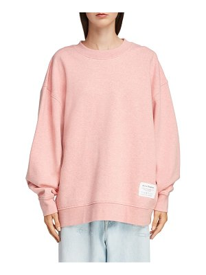 Acne Studios fyona label sweatshirt