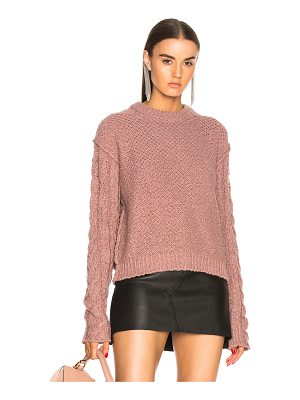 ACNE STUDIOS Hila Cable Sweater
