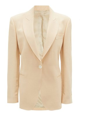 Acne Studios jereni single-breasted crepe jacket