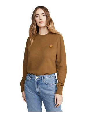 Acne Studios kalon face sweater