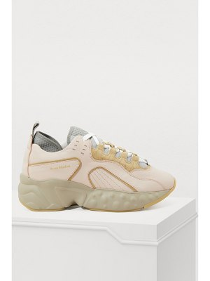 Acne Studios Manhattan nappa leather sneakers