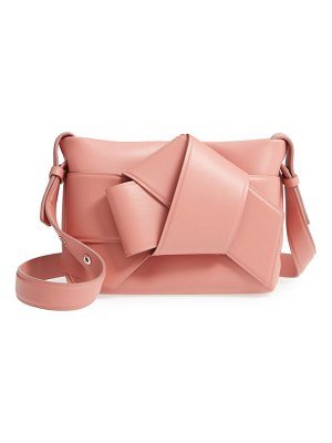 Acne Studios musubi knot leather handbag