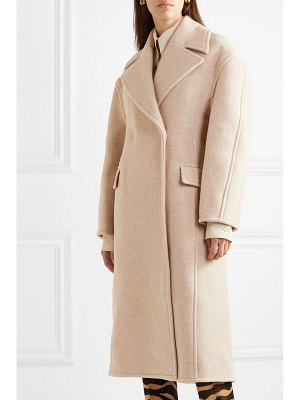 Acne Studios olaia oversized mélange wool-blend coat