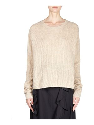 ACNE STUDIOS Oversized Cable Knit Pullover