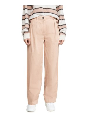 Acne Studios pavi cotton twill trousers
