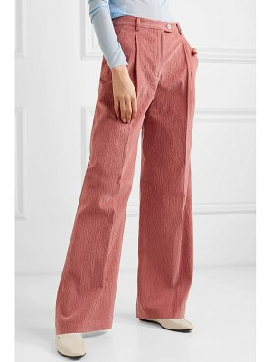 Acne Studios pina cotton-blend corduroy wide-leg pants