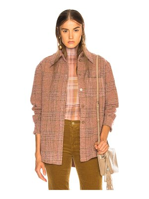 Acne Studios Plaid Fannel Shirt