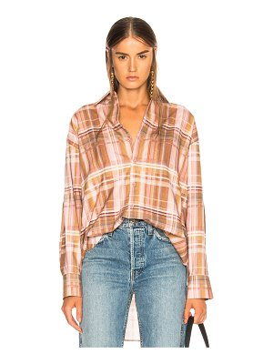Acne Studios Plaid Shirt