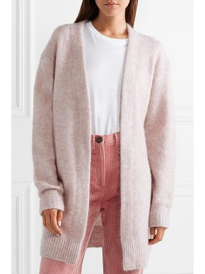 Acne Studios raya mélange knitted cardigan