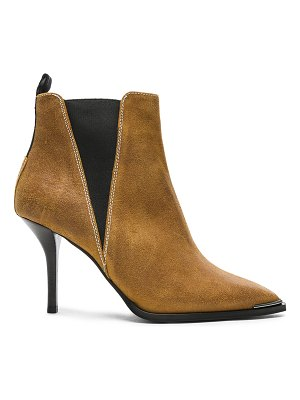 Acne Studios Waxed Suede Jemma Boots