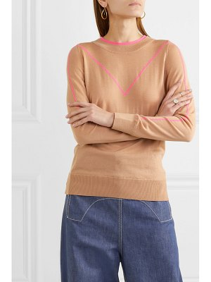 Adam Lippes intarsia merino wool sweater