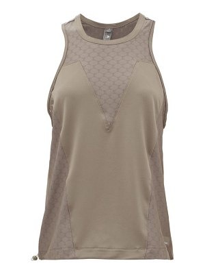Adidas By Stella McCartney mesh-panelled training tank top