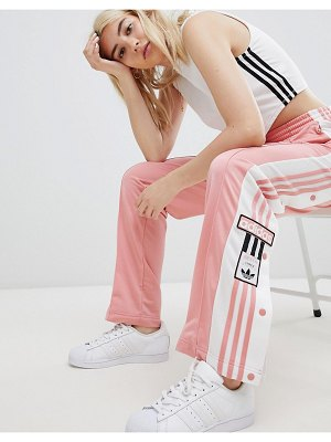 Adidas Originals adidas original three stripe track pant with vintage logo