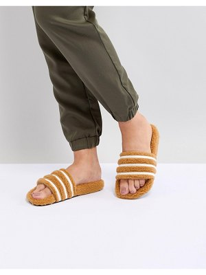 Adidas Originals adilette furry slider sandals