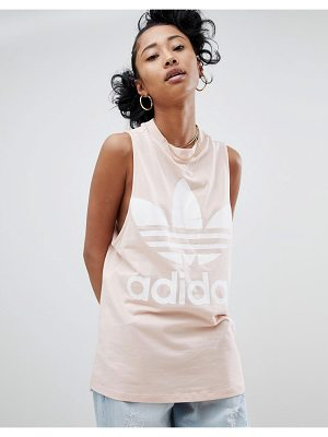 Adidas Originals big trefoil tank top