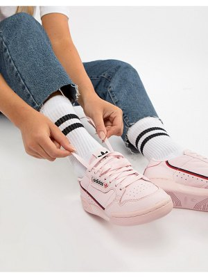 Adidas Originals continental 80's sneakers in pink