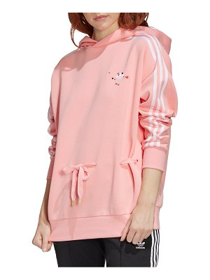 Adidas Originals embroidered heart hoodie