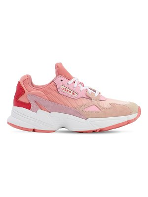 Adidas Originals Falcon suede & mesh sneakers