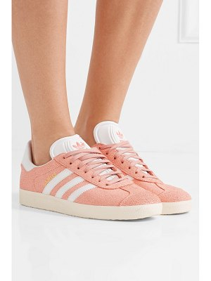 Adidas Originals gazelle cracked-suede sneakers