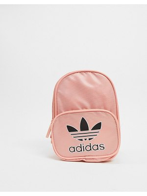 Adidas Originals mini backpack in pink
