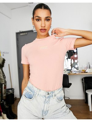 Adidas Originals ryv bodysuit in pink