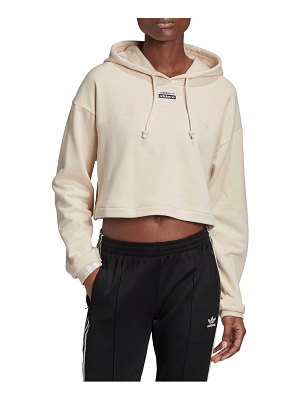 Adidas Originals r.y.v. cropped french terry hoodie