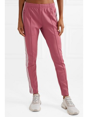 Adidas Originals sst striped jersey track pants