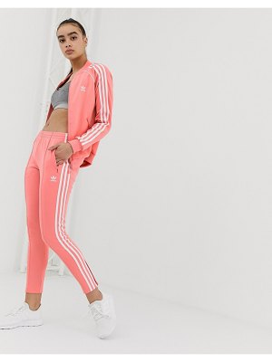Adidas Originals track sweatpants in pink