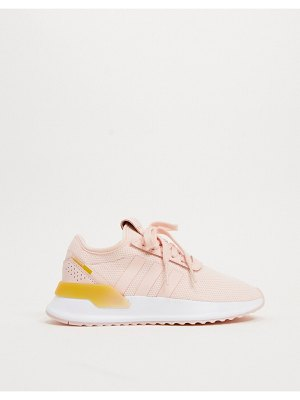 Adidas Originals u path sneakers in pink