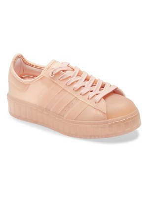 Adidas superstar jelly platform sneaker