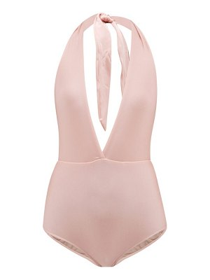 ADRIANA DEGREAS bacio v neck swimsuit