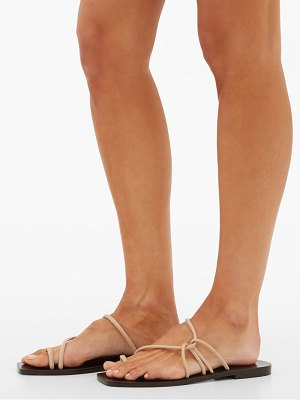 A.Emery willow top-loop leather sandals