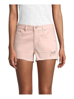 AG ADRIANO GOLDSCHMIED Bryn Ex-Boyfriend Cut-Off Denim Shorts
