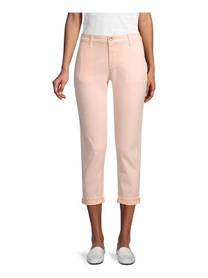 AG Adriano Goldschmied cropped tailored trousers