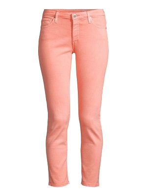 AG Jeans prima mid rise ankle skinny jeans