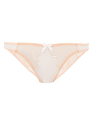 Agent Provocateur essie embroidered tulle hipster briefs