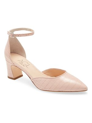 AGL d'orsay ankle strap pump